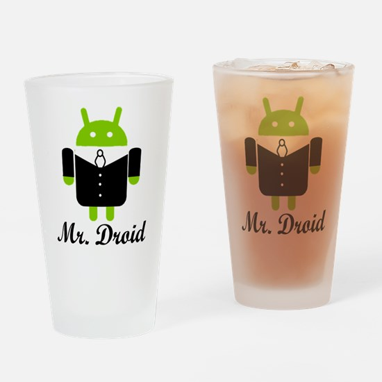 Unique Android Drinking Glass