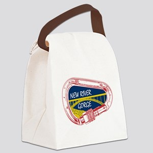 New River Gorge Climbing Carabine Canvas Lunch Bag