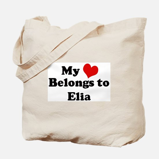 My Heart: Elia Tote Bag