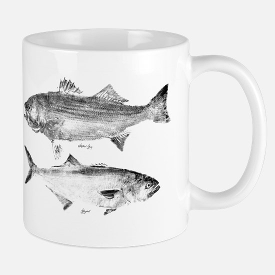 Striper Bass and Bluefish Mug