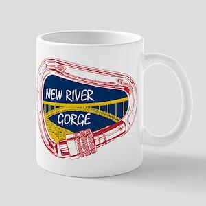 New River Gorge Climbing Carabiner Mugs