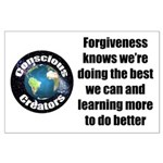 Forgiveness Knows Large Poster