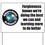 Forgiveness Knows Yard Sign