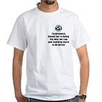 Forgiveness Knows White T-Shirt