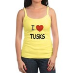 I heart tusks Jr. Spaghetti Tank