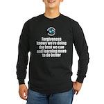 Forgiveness Knows Long Sleeve Dark T-Shirt