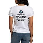 Forgiveness Knows Women's Classic White T-Shirt