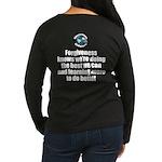 Forgiveness Knows Women's Long Sleeve Dark T-Shirt
