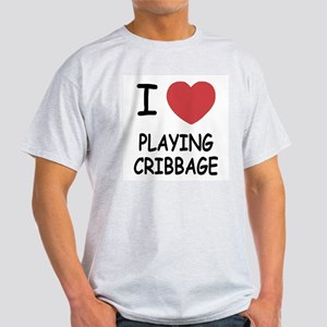 I heart playing cribbage Light T-Shirt
