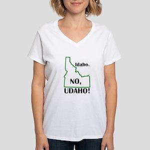 Udaho Women's V-Neck T-Shirt