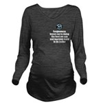 Forgiveness Knows Long Sleeve Maternity T-Shirt