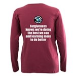 Forgiveness Knows Plus Size Long Sleeve Tee