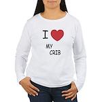 I heart my crib Women's Long Sleeve T-Shirt