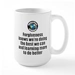 Forgiveness Knows 15 oz Ceramic Large Mug