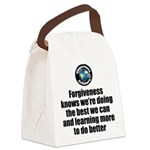 Forgiveness Knows Canvas Lunch Bag