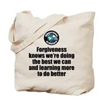 Forgiveness Knows Tote Bag