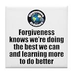 Forgiveness Knows Tile Coaster