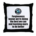 Forgiveness Knows Throw Pillow
