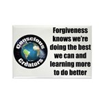 Forgiveness Knows Rectangle Magnet (100 pack)