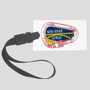 New River Gorge Climbing Carabin Large Luggage Tag