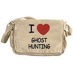 I heart ghost hunting Messenger Bag