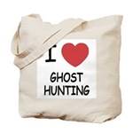 I heart ghost hunting Tote Bag