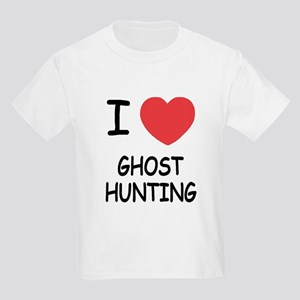 I heart ghost hunting Kids Light T-Shirt