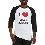 I heart ghost hunting Baseball Jersey