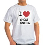 I heart ghost hunting Light T-Shirt
