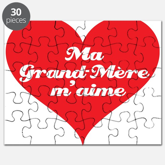 Grandma Loves Me (French) Puzzle