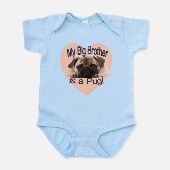 Pug Brother Infant Bodysuit
