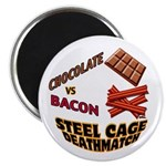 Chocolate VS Bacon Magnet