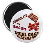 Chocolate VS Bacon Magnet