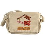 Chocolate VS Bacon Messenger Bag