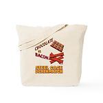 Chocolate VS Bacon Tote Bag