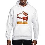 Chocolate VS Bacon Hooded Sweatshirt