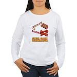 Chocolate VS Bacon Women's Long Sleeve T-Shirt