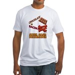 Chocolate VS Bacon Fitted T-Shirt
