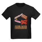 Chocolate VS Bacon Kids Dark T-Shirt