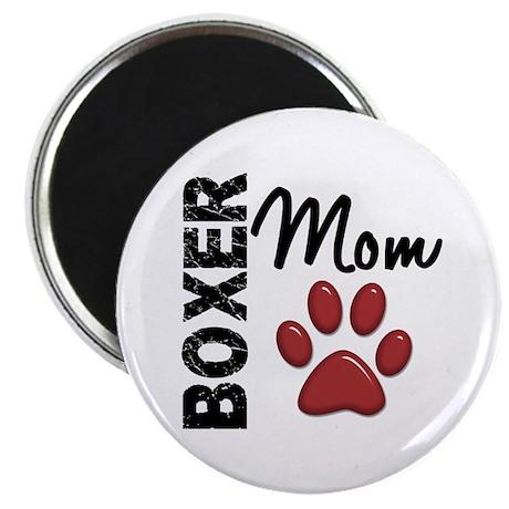 Boxer Mom 2 Magnet