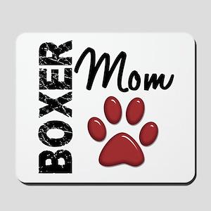 Boxer Mom 2 Mousepad