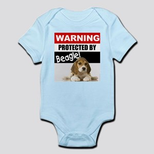 Protected by Beagle Infant Bodysuit