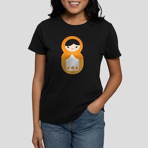 Matryoshka - Orange Women's Dark T-Shirt