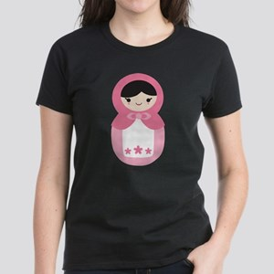 Matryoshka - Pink Women's Dark T-Shirt