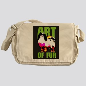 Art Of Fur Messenger Bag