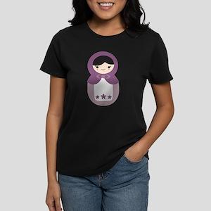 Matryoshka - Purple Women's Dark T-Shirt