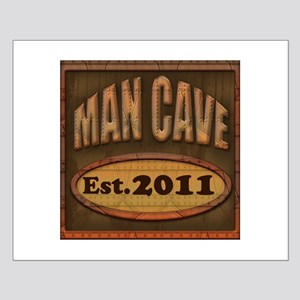 Man Cave Small Poster