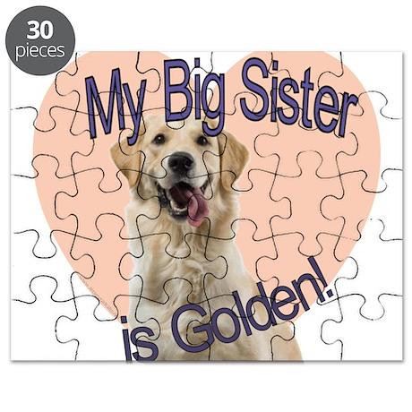 Golden Retriever Sister Puzzle