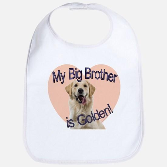 Golden Retriver Brother Bib