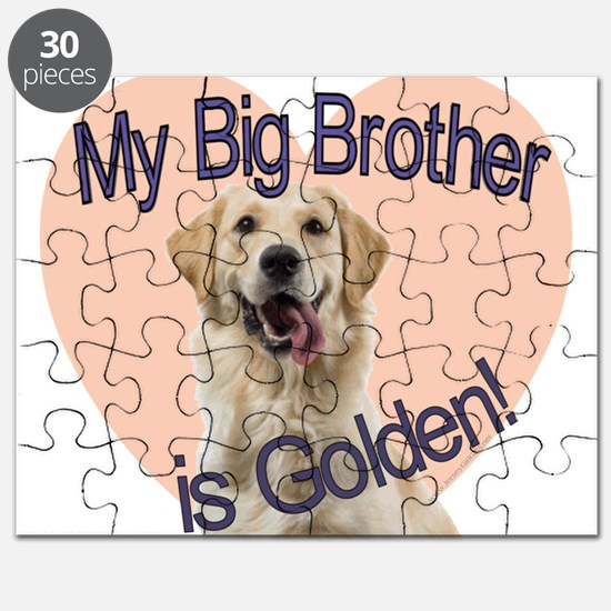 Golden Retriver Brother Puzzle